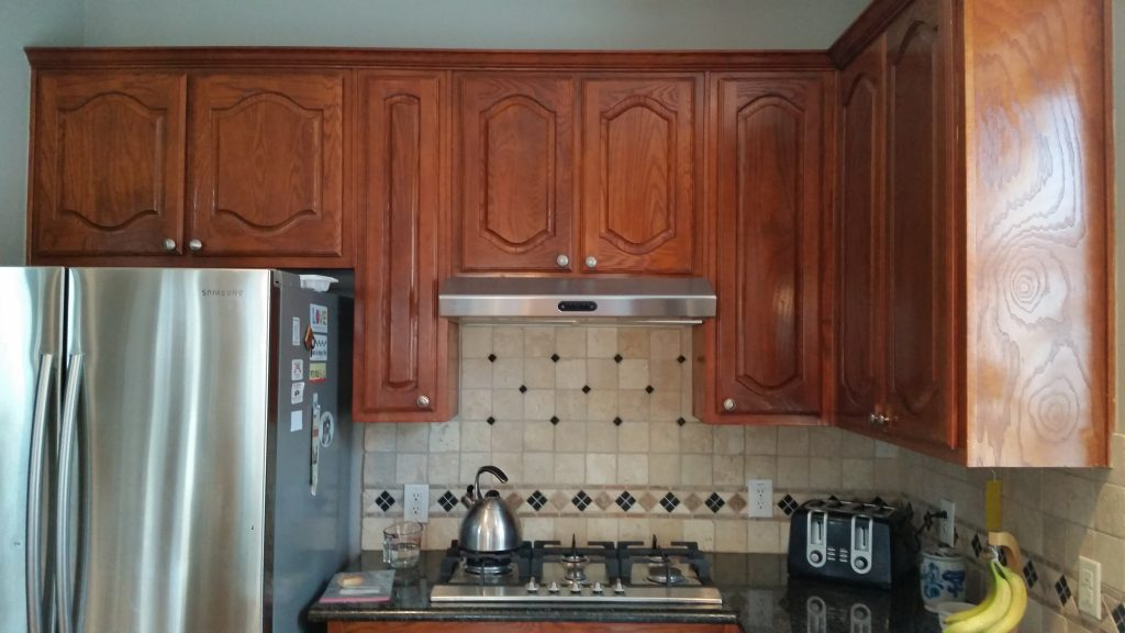 DIY Outdated Cabinets to Shaker Cheap