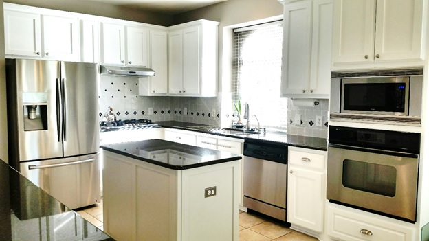 After White Shaker-style Kitchen